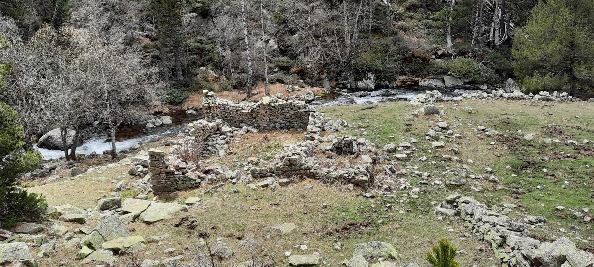 El jacimet es troba al Solà de la Farga, a 2.000 metres d'altura.