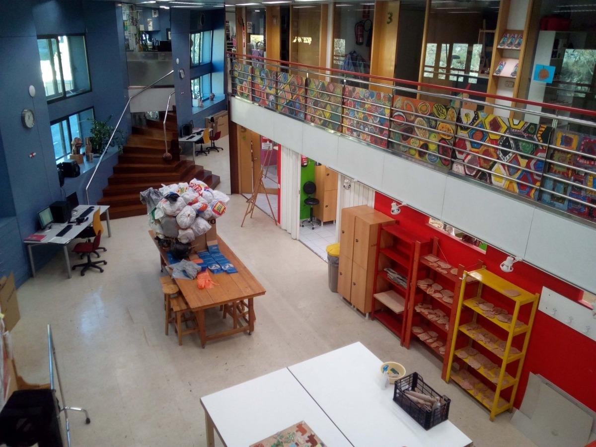 Andorra, Sant Julià, escola d'art, Espai Sergi Mas, Sergi Mas, càtedra