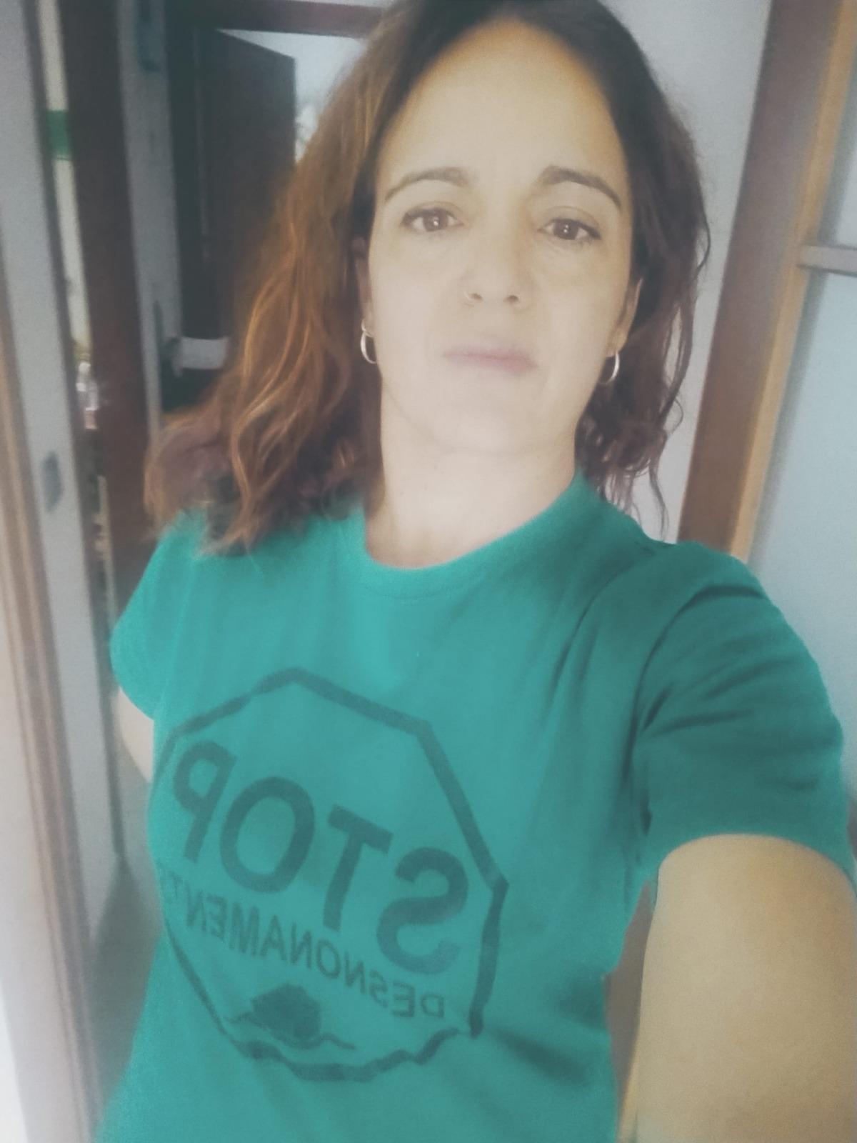 La portaveu de la PAH Alt Urgell, Laura García.