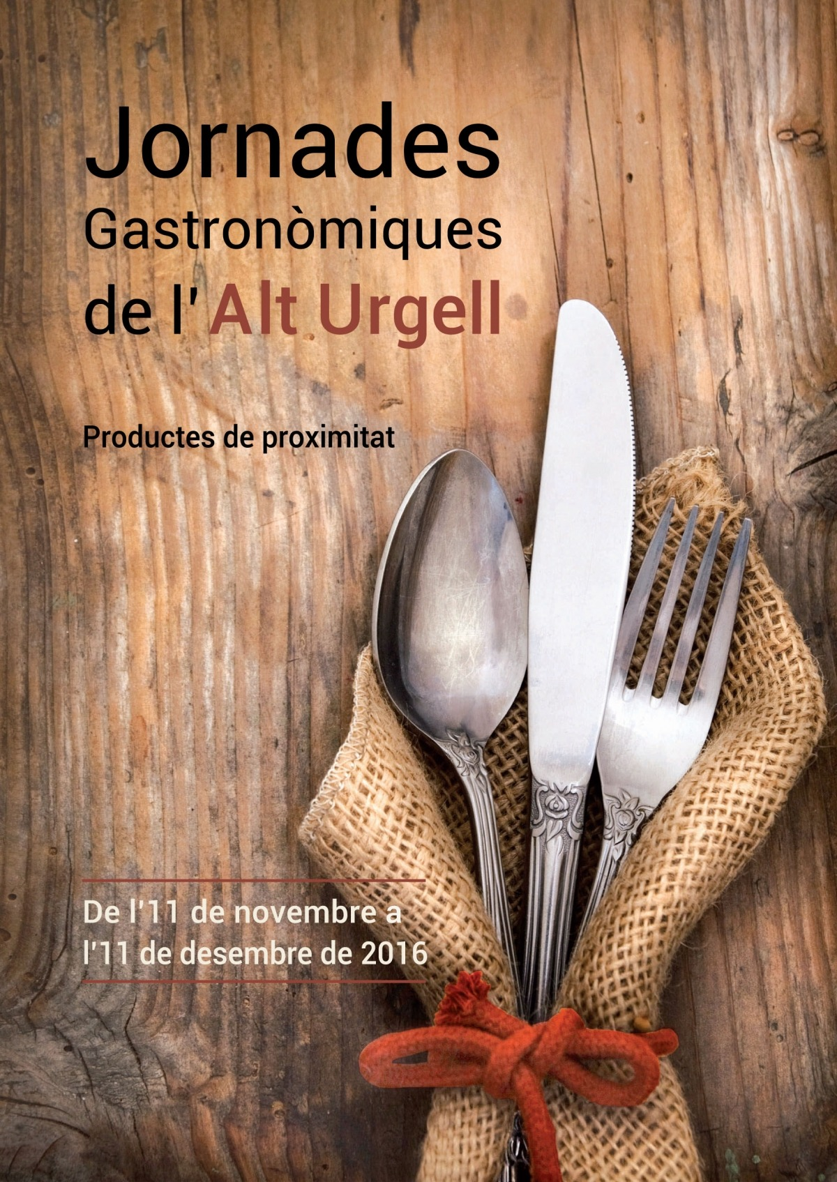Dotze participants a les Jornades gastronòmiques de l'Alt Urgell