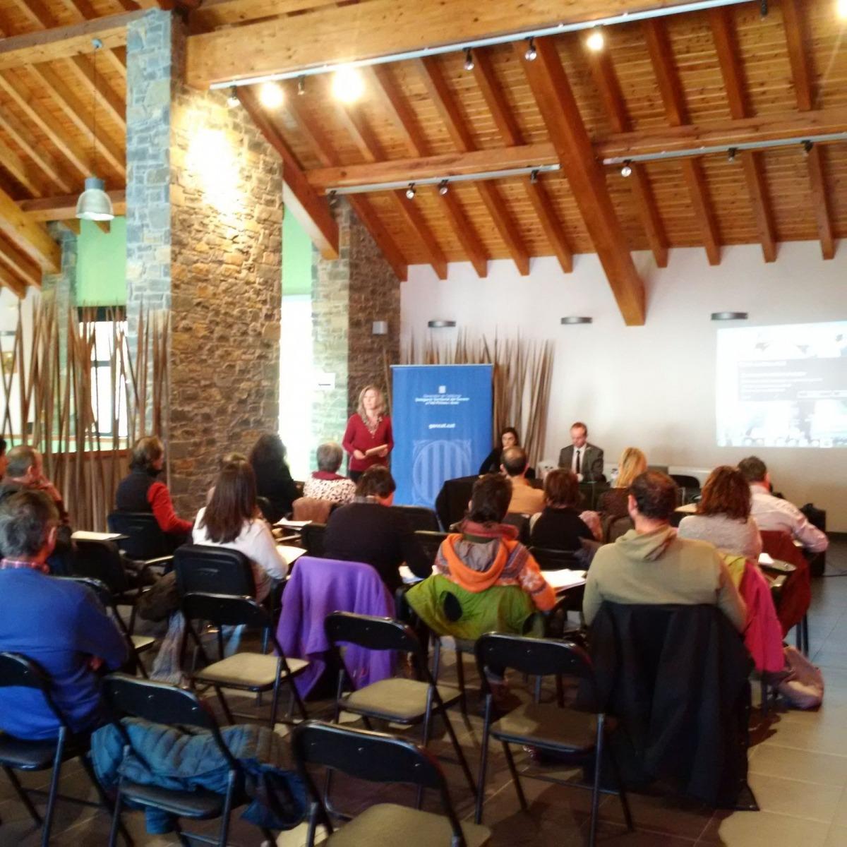 Presentació a Sort del programa de cooperació transfronterera