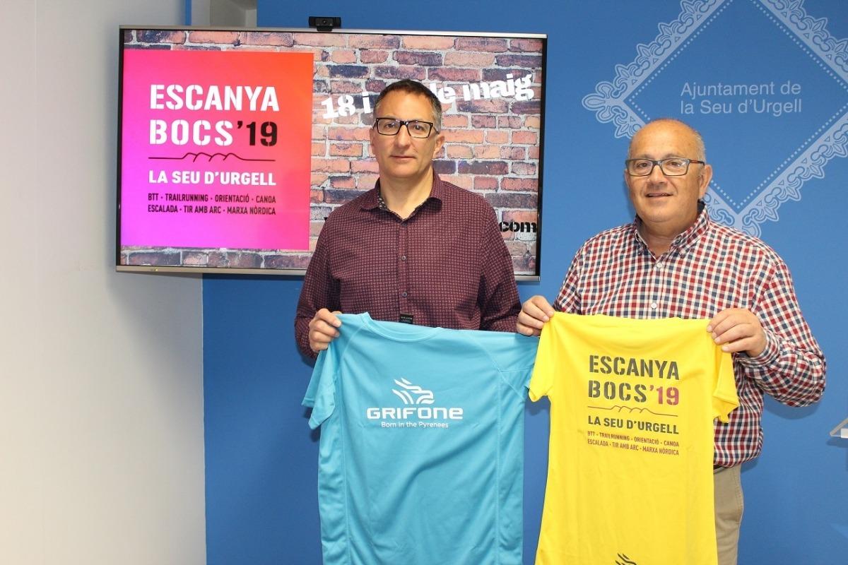 La presentació de la dotzena edició de l'Escanyabocs es va fer ahir.