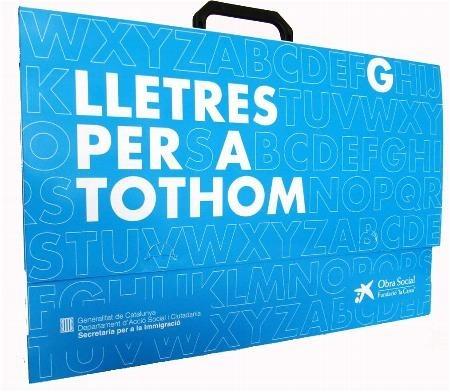Una vintena de nouvinguts fan un curs d'alfabetització en català