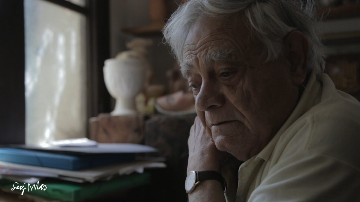 L'artesà lauredià, al taller de la desapareguda Casa Duró d'Aixovall, al documental que li va dedicar el seu net, Hèctor.