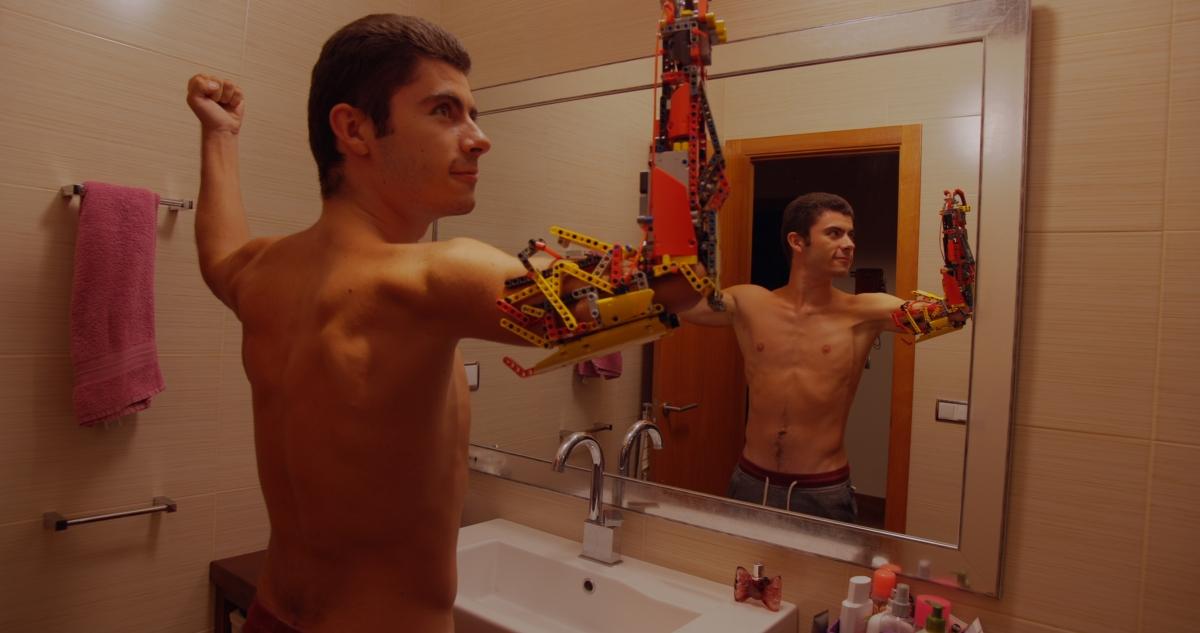 David Aguilar, protagonista absolut de 'Mr. Hand Solo', el documental que ha dirigit Hèctor Romance.