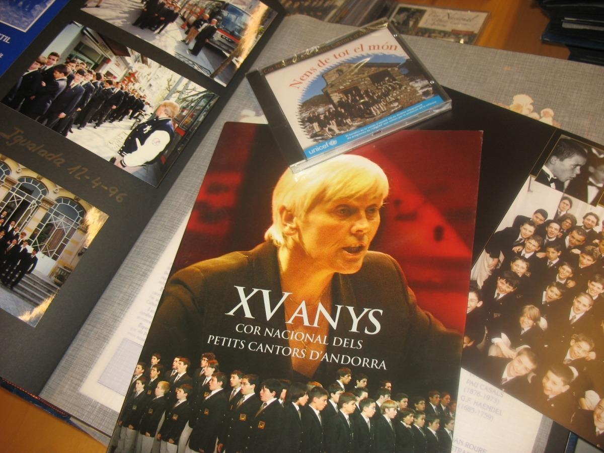 Andorra, Cor Nacional, Petits Cantors, Catherine Metayer, Biblioteca Nacional, arxiu, 25è aniversari