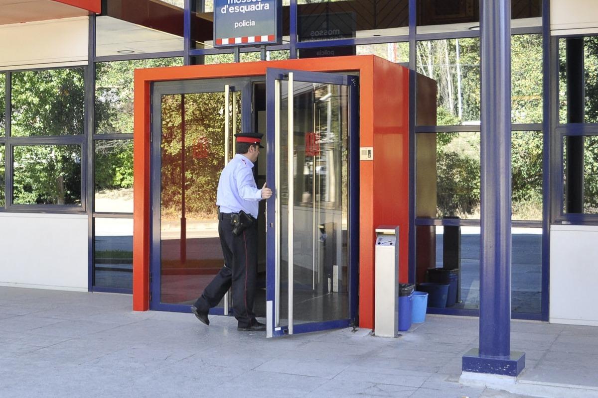 La comissaria dels mossos d'esquadra de la Seu d'Urgell.