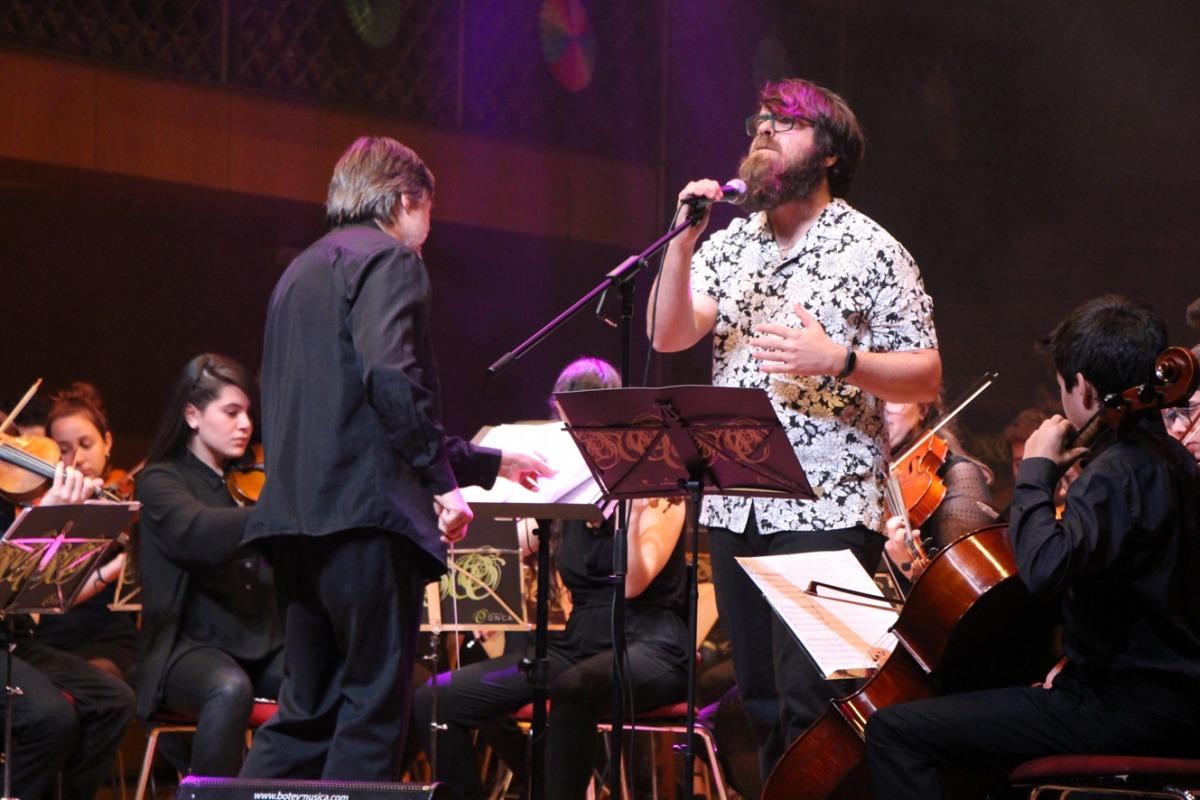 La proposta pop va arribar a la segona part del concert.