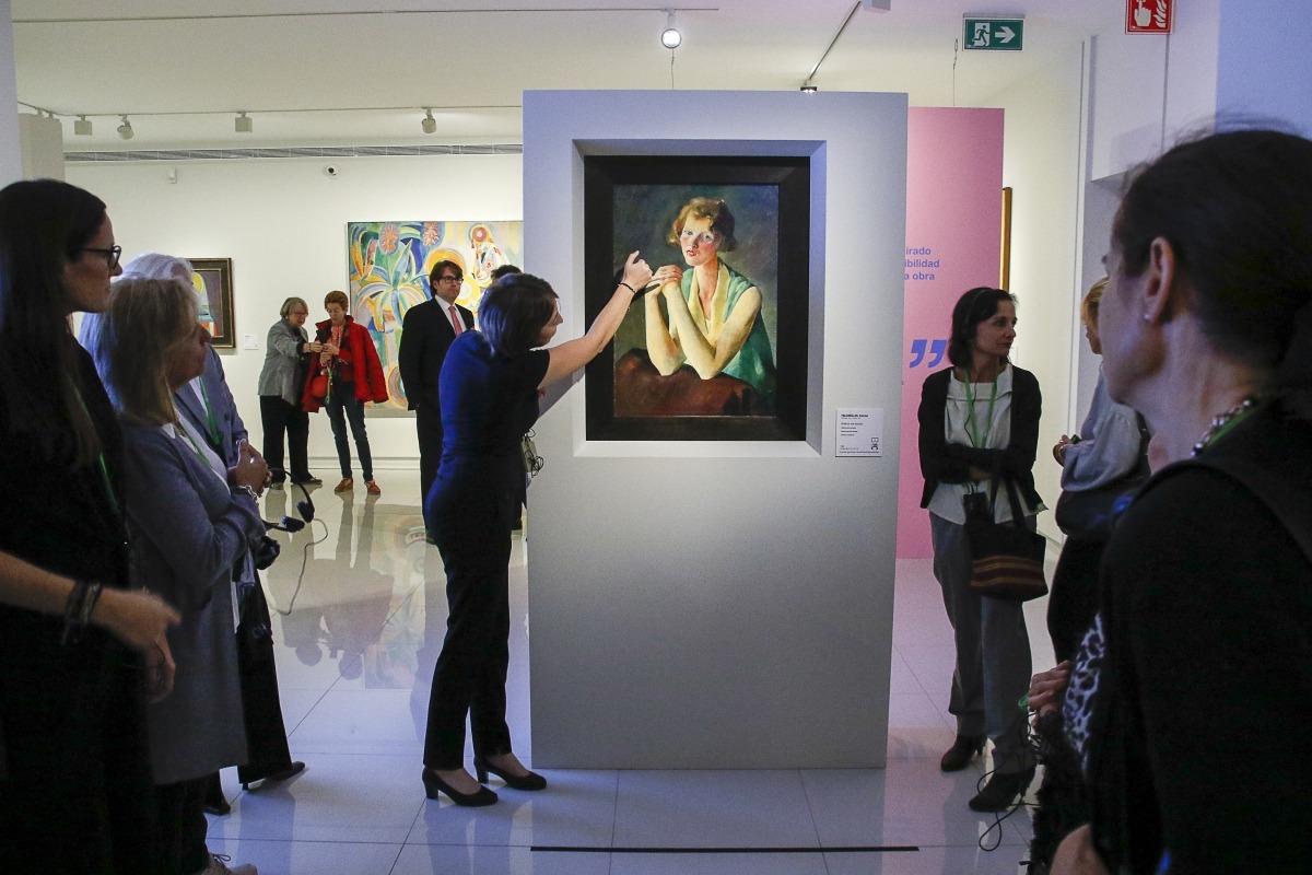 'Femina Feminae' exposa a l'antic hotel Valira d'Escaldes 28 obres de la col·lecció de Carmen Thyssen.