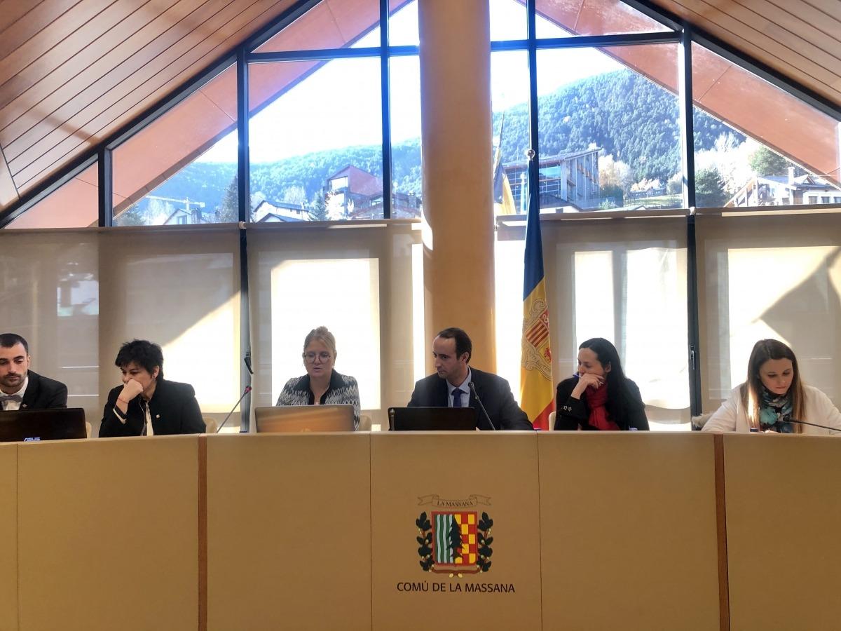 El Consell de Comú d'ahir.