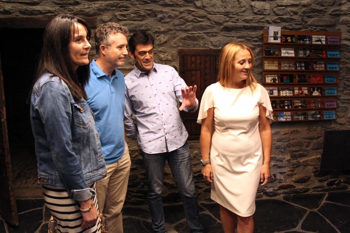 La Casa d'Areny-Plandolit estrena accés i la botiga central dels museus