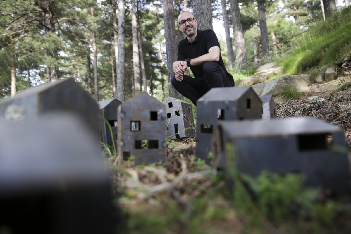 Miquel Mercè, arquitecte, participa a la biennal L'Andart