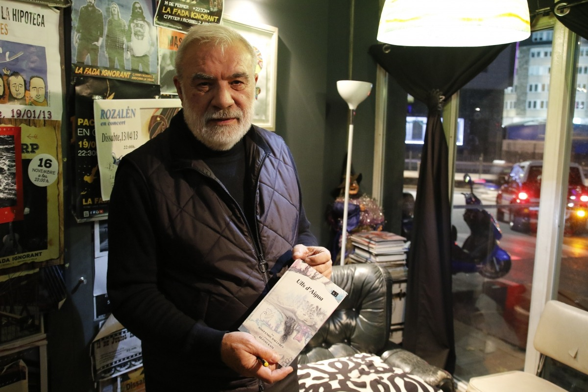 L'escriptor Josep Enric Dallerès.