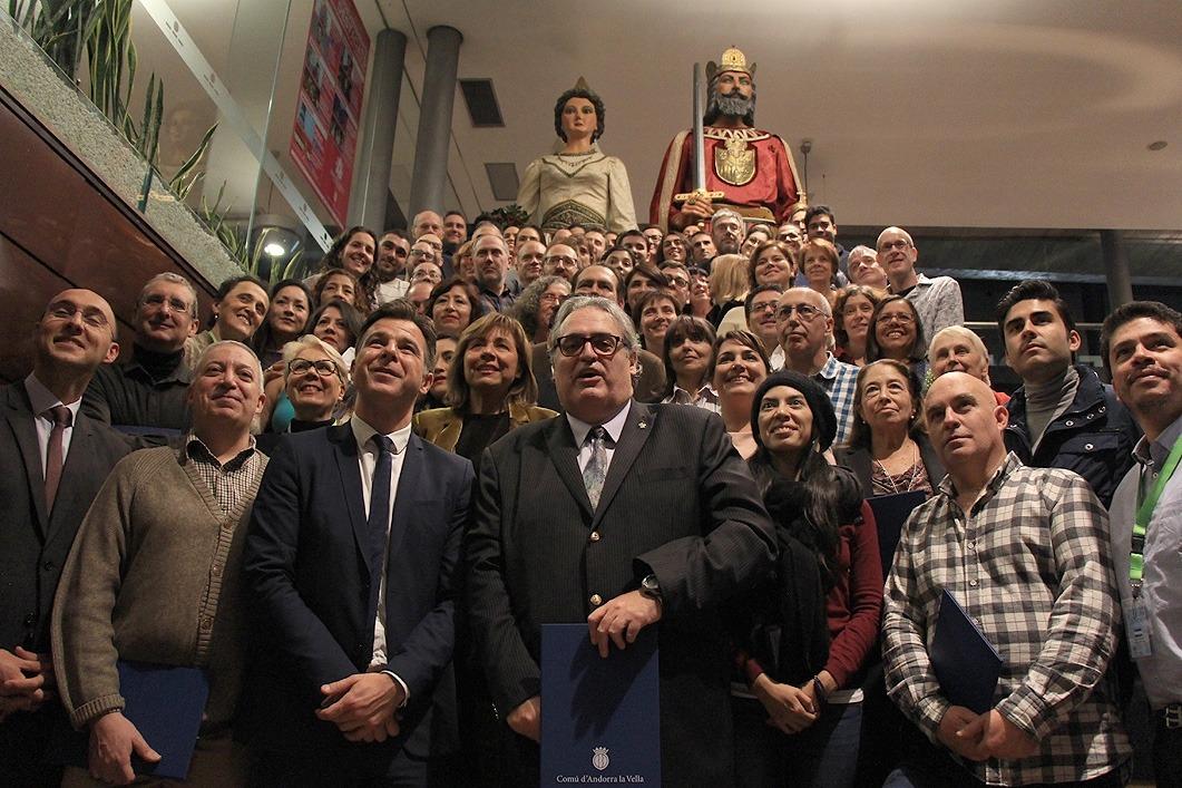 Andorra, capital iberoamericana de la cultura, homenatge, associacions, entitats