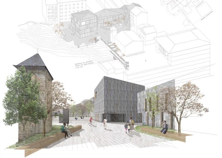 El projecte guanyador inclou també un amfiteatre que podria utilitzar-se per programar-hi esdeveniments culturals.