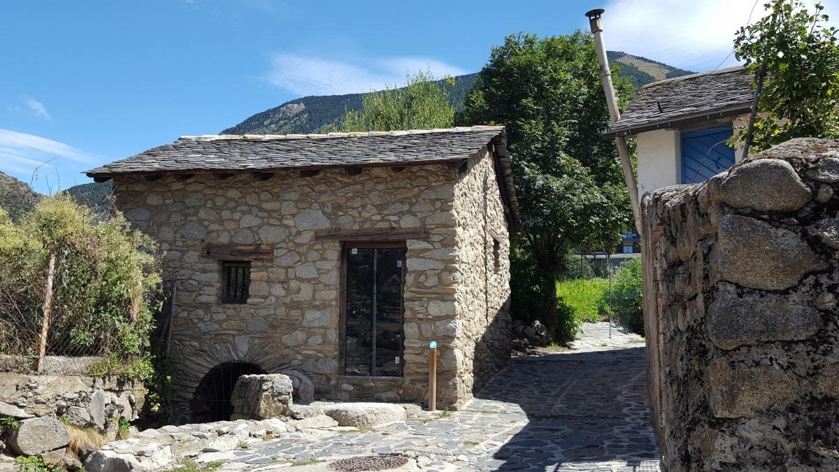 Andorra, Arxiu Nacional, molins fariners, molí, blat, Francina Pons, itinerari, patrimoni