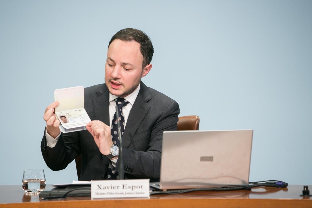 El nou passaport biomètric de tercera generació, a final de mes