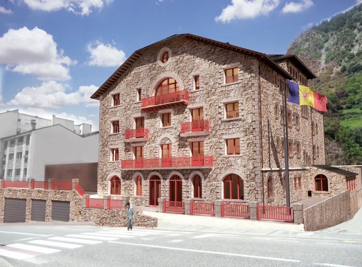 Andorra, Encamp, Rosaleda, ministeri de Cultura, Adolf Florensa, restauració