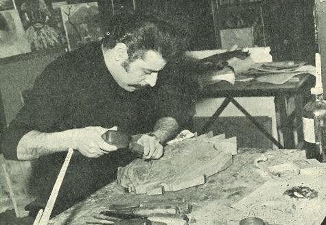 Antoni Morell i Elidà Amigó van incloure una entrevista amb el tallista traspassat divendres al volum '693 anys després', publicat el 1971.