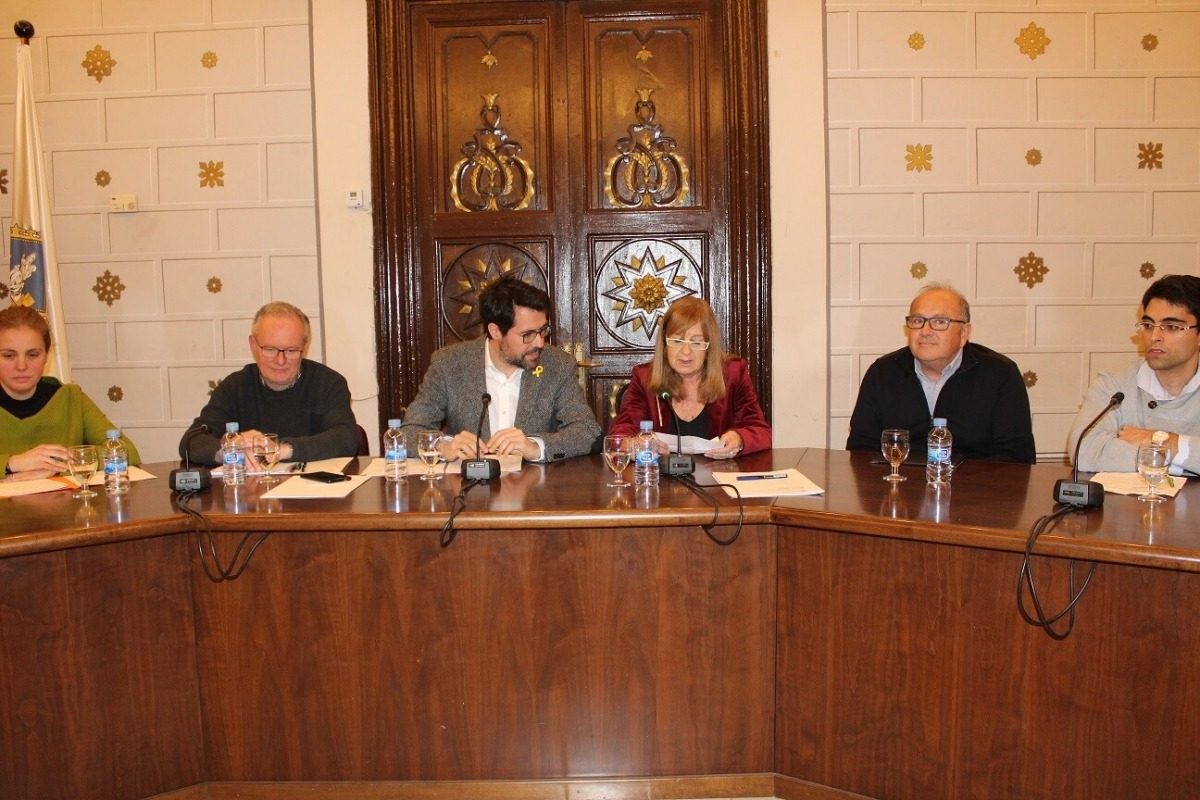 Anna Martí va obtenir el suport per al càrrec de tots els grups polítics.