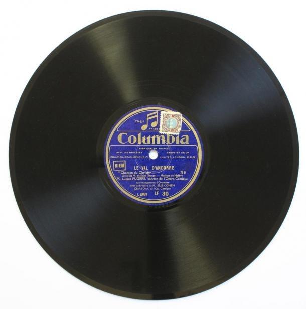 'La chanson du chévrier', de 'La Val d'Andorre' (1930).