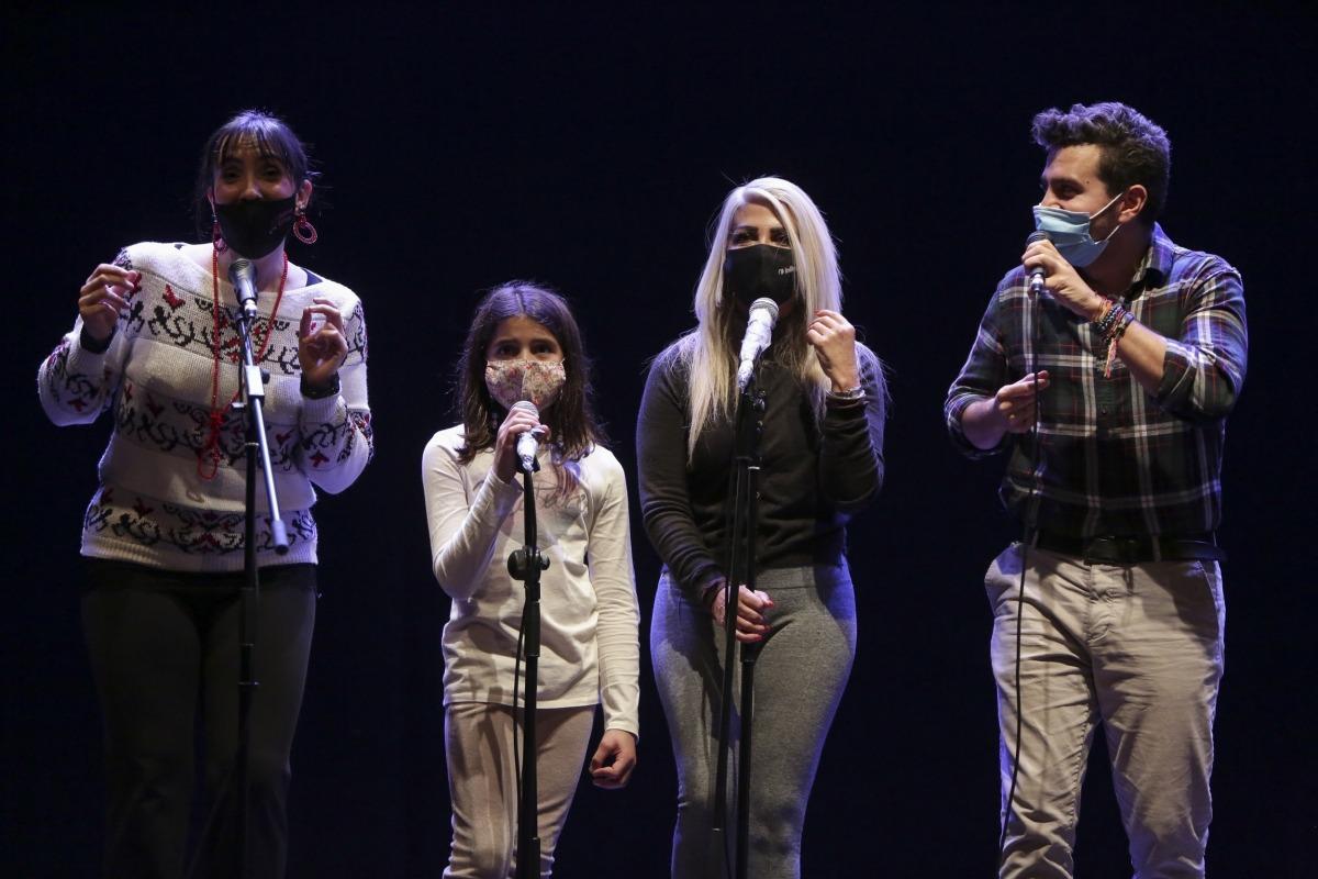 L'assaig general del concert de dijous va tenir lloc ahir a Les Fontetes.