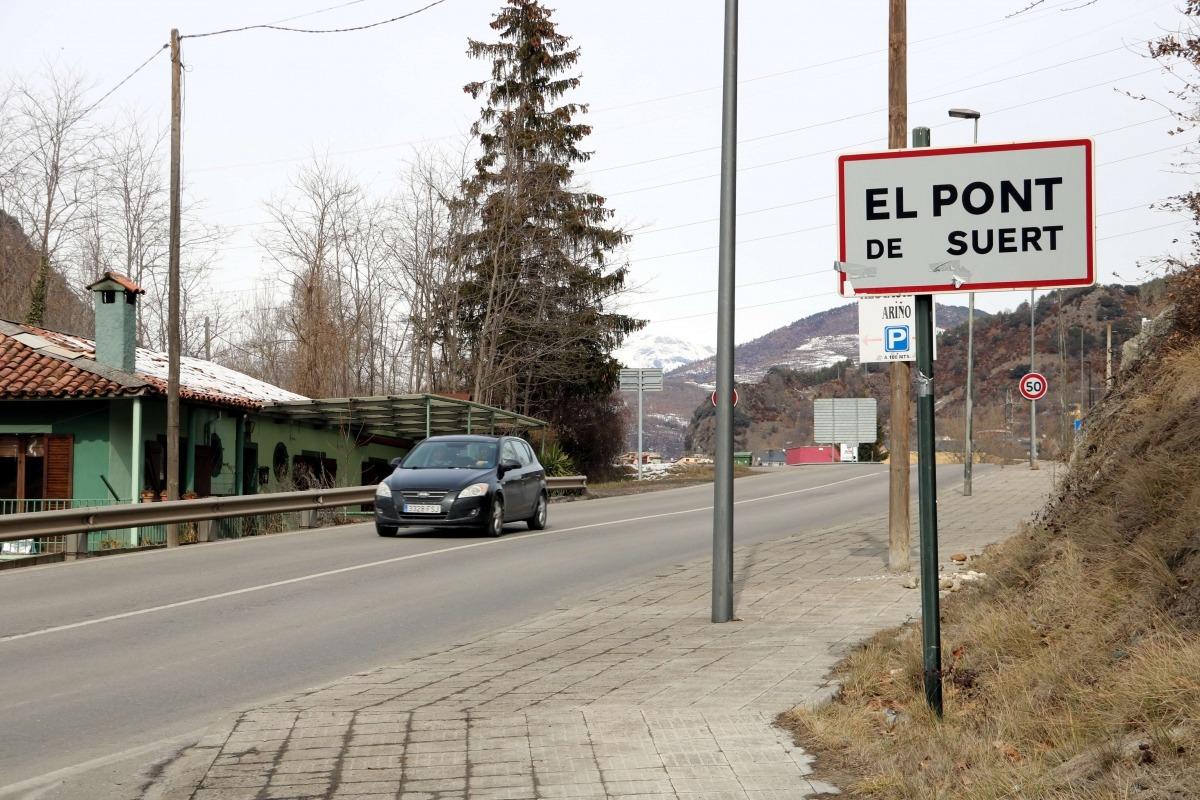 El terratrèmol es va notar a la població del Pont de Suert.