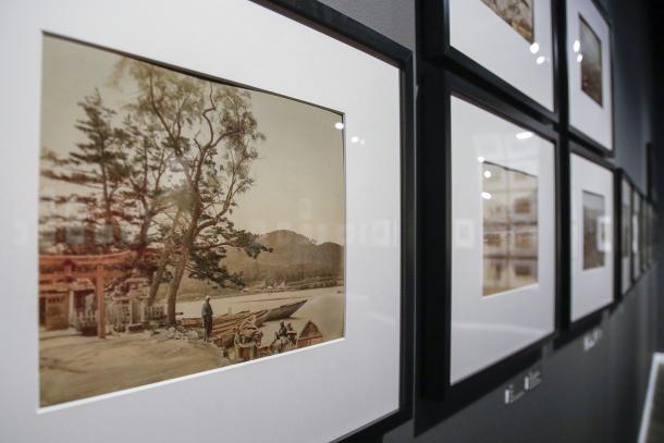 Les fotos i estampes de 'L'empremta de l'aigua' es van exposar la tardor del 2018.