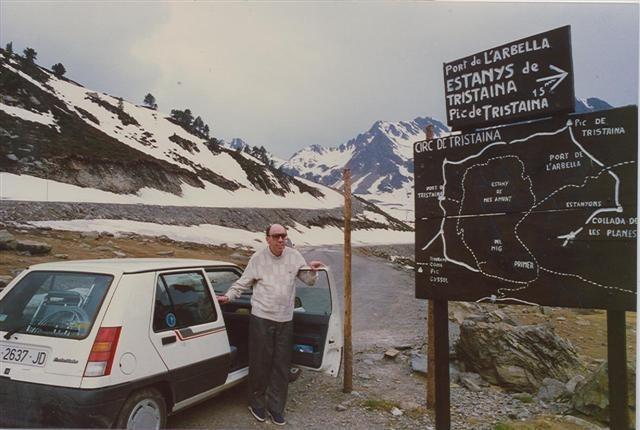 Martí i Pol, a les portes de Tristaina: era el 1987.
