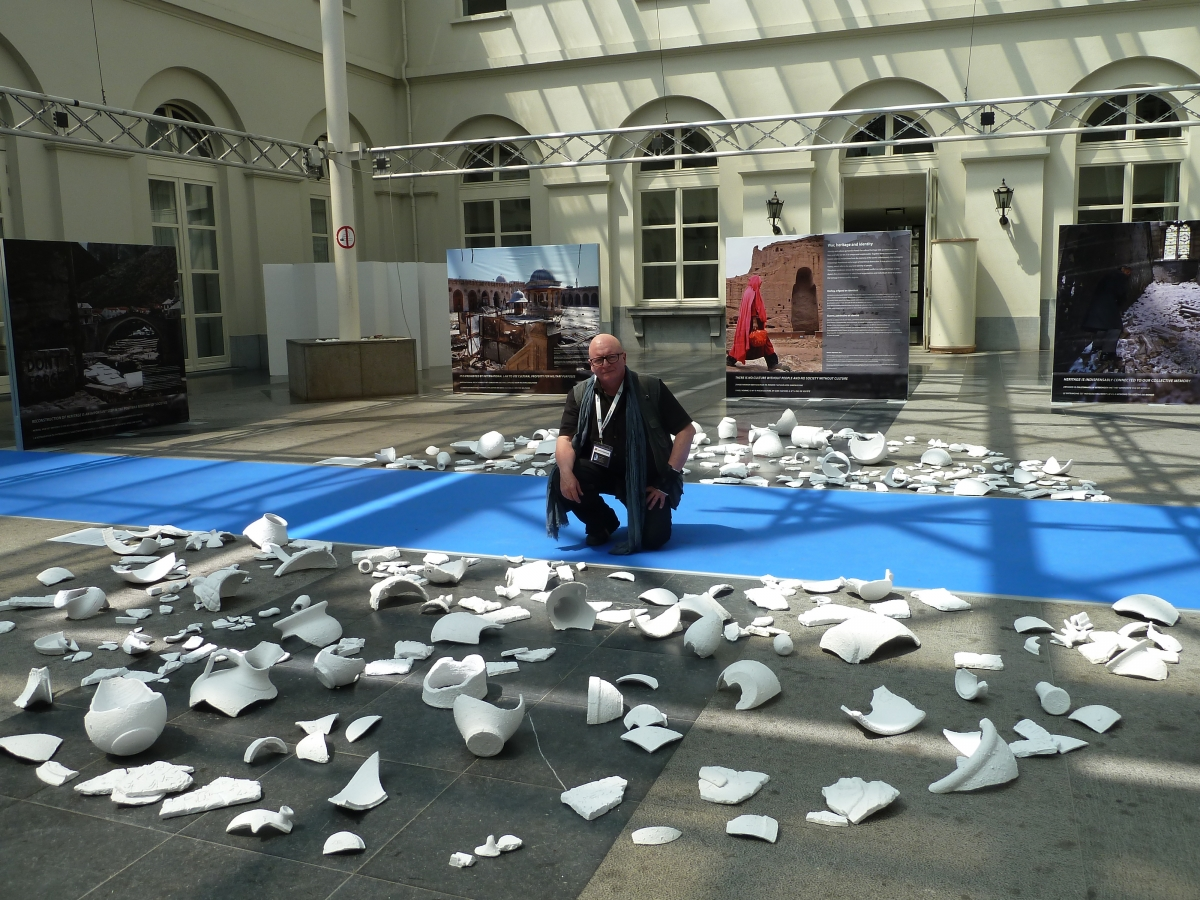 Andorra, UNESCO, Bagdad, Under Attack, Brussel·les, Faust Campamà, instal·lació, art