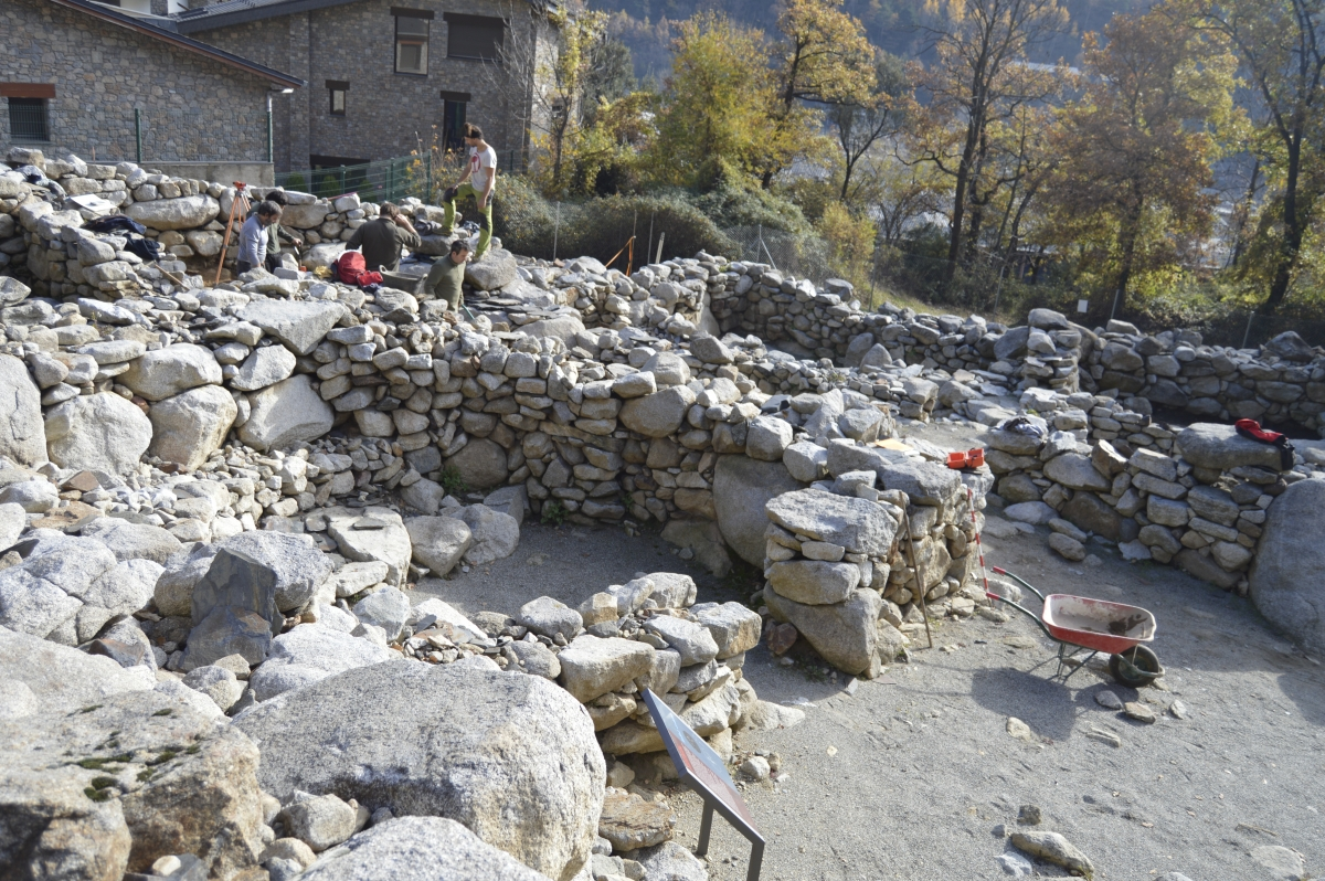 Andorra, Patrimoni, Recerca Històrica, Àlex Vidal, Olga Gelabert, arqueologia, jaciment, excavacions