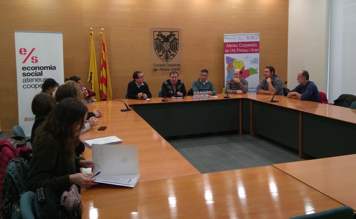 Presentació dels projectes cooperatius del Pallars.