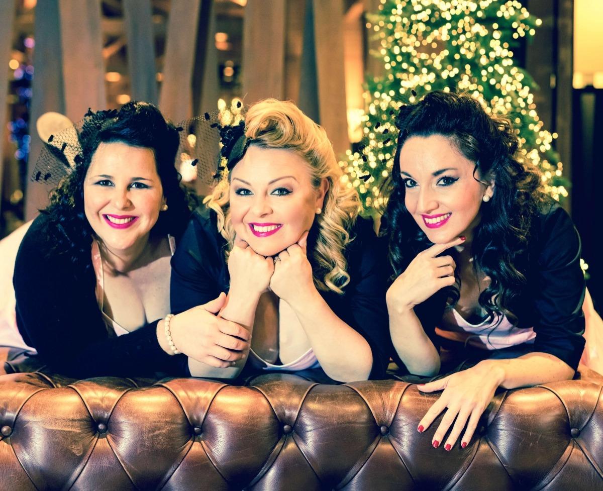 Fanny, Susanne i Mar són The Swing Girls, que es van presentar oficialment ahir a l'Hermitage de Soldeu.