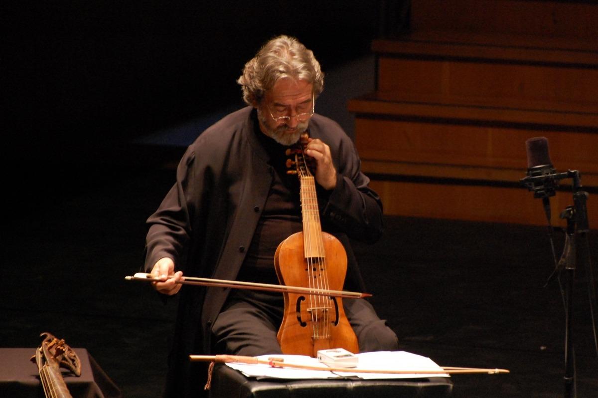 El musicòleg català, en l'última compareixença a Ordino, el setembre del 2009.