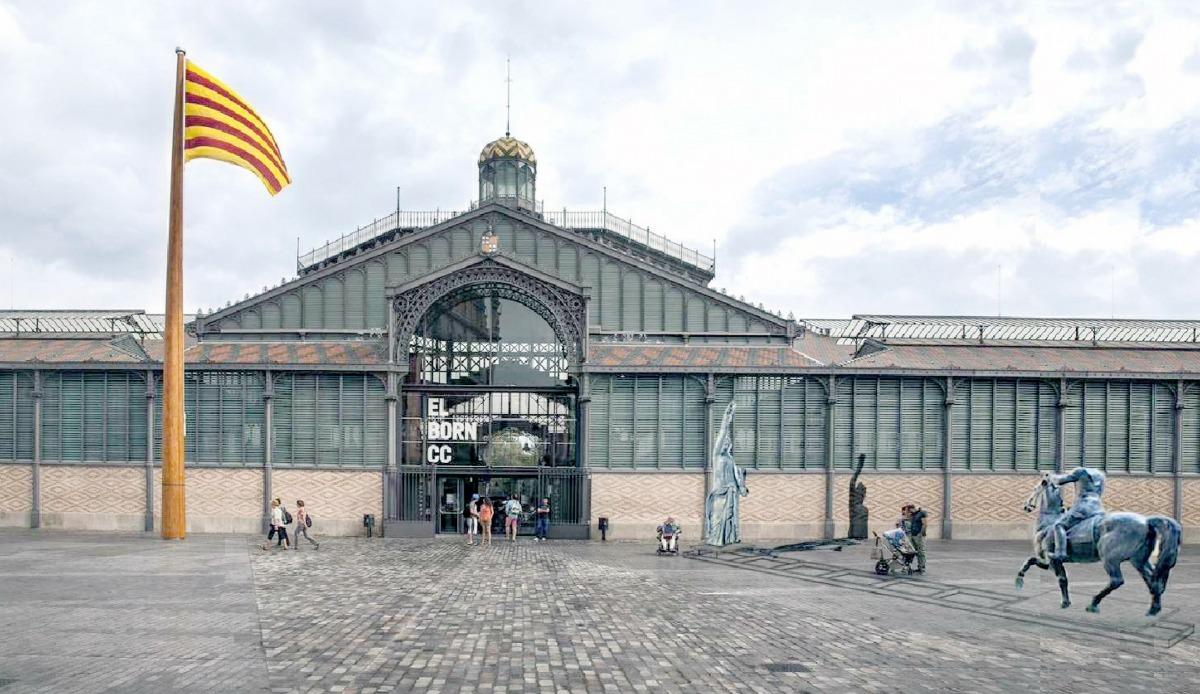 Andorra, Escaldes, Josep Viladomat, Born, Franco, Marés, Sergi Mas, Franco Victòria República, escultura urbana, obelisc