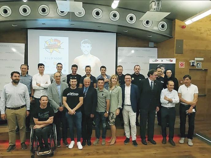 La cinquena edició de La Purito Andorra es va presentar ahir a la sala d'actes d'Andbank.