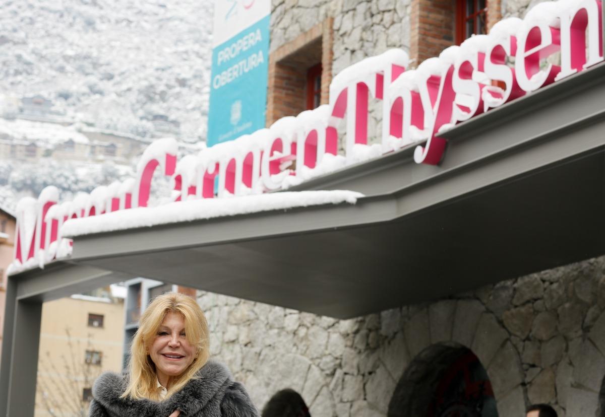 Andorra, Escaldes, Valira, Carmen Thyssen, museu Carmen Thyssen Andorra, Thyssen, Escenaris, inauguració, Gauguin, Monet, Matisse, Sisley