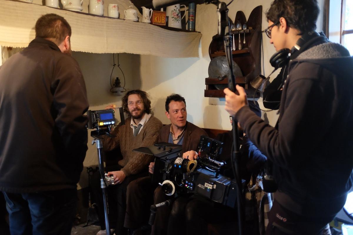 Andorra, Fred, Roger Casamajor, rodatge, teaser, pel·lícula, Isak Férriz, Santi Trullenque, Agustí Franch, Rejewski, Florian Opitrescu