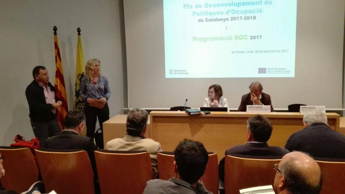 El servei d'ocupació ha beneficiat 573 persones a l'Alt Pirineu i Aran