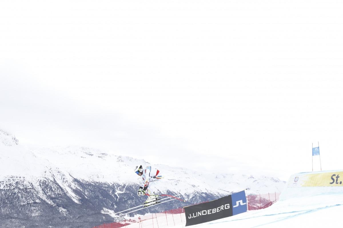 Verdú acaba dins del top-30 en la combinada de Saint Moritz