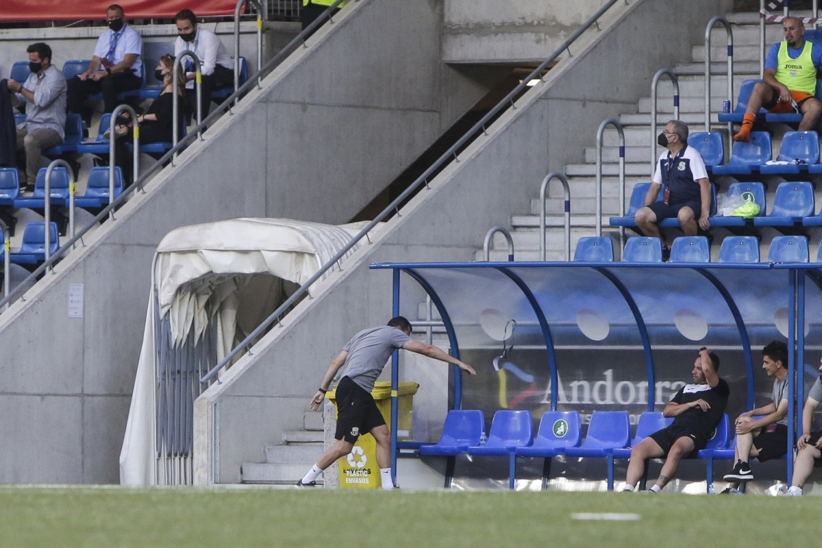 Albert Jorquera deixa el futbol andorrà, però no el país, i marxa a la UE Llagostera. Foto: Facundo Santana