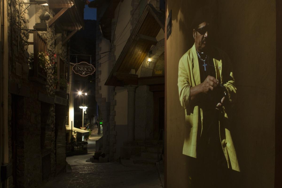 Andorra, fotografia, performance, projecció, retrat, Oriol, Llauradó