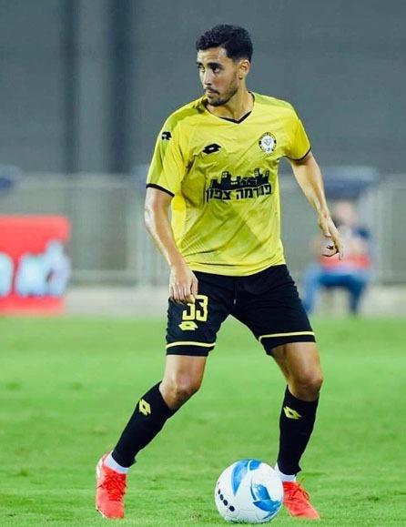 Borja Herrera, amb el Maccabi Netanya.
