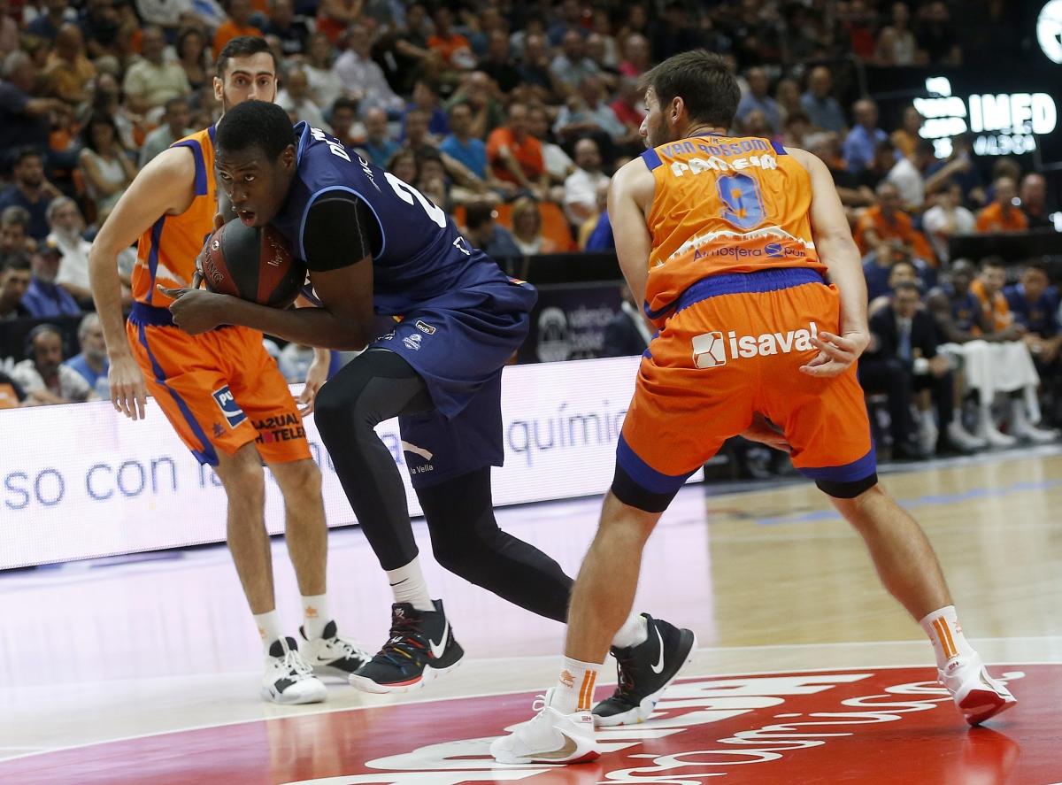 El pivot senegalès del BC MoraBanc, Moussa Diagne, serà a València un dels homes importants d'Ibon Navarro a dins de la pintura.