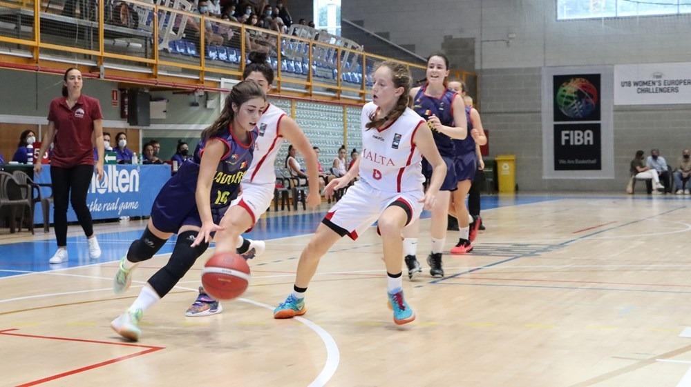 Nova desfeta de la U18 femenina. Foto: FIBAEUROPE.COM