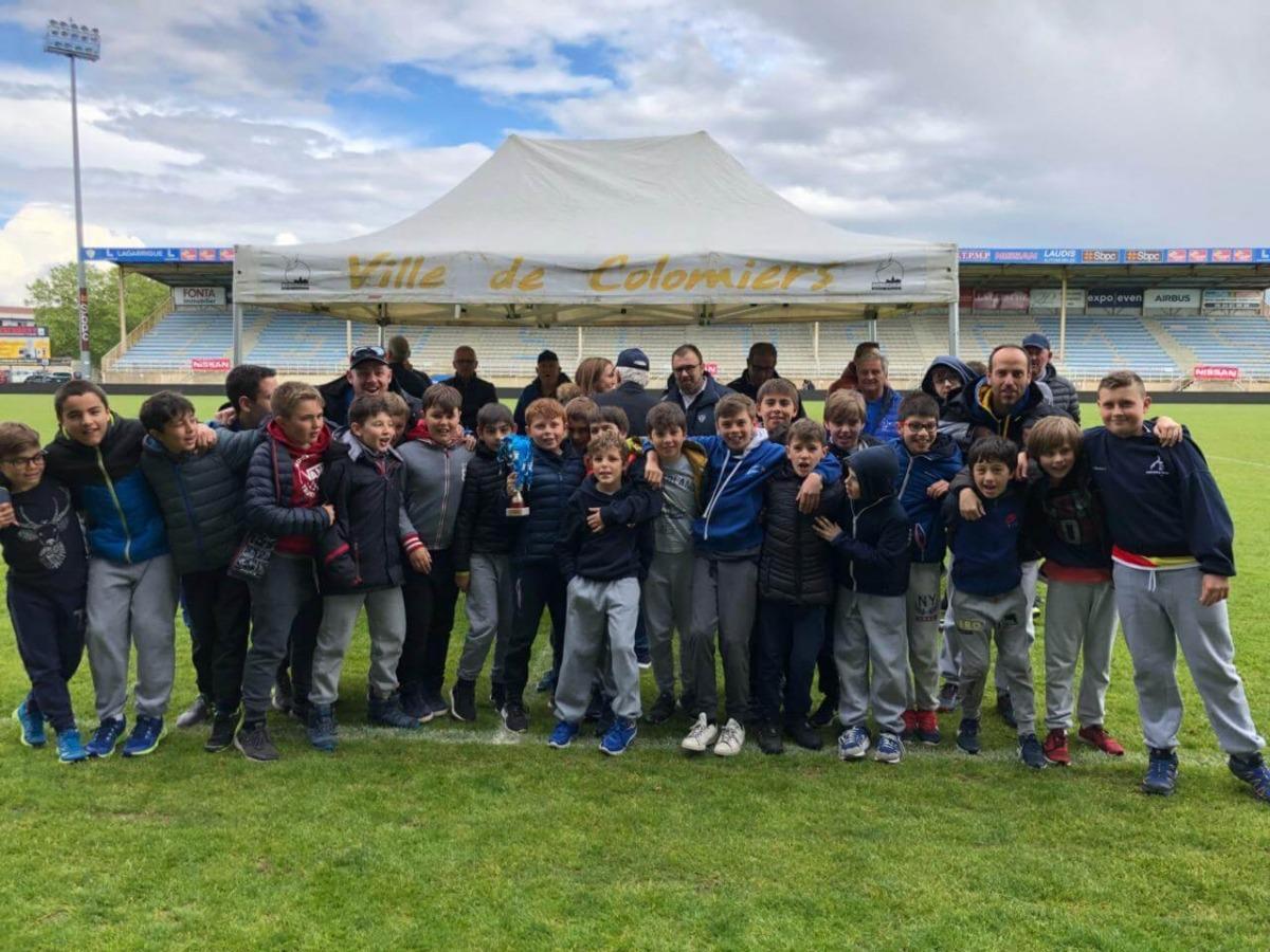 El VPC U12 finalitza quart al Trophée Bendichou de Colomiers