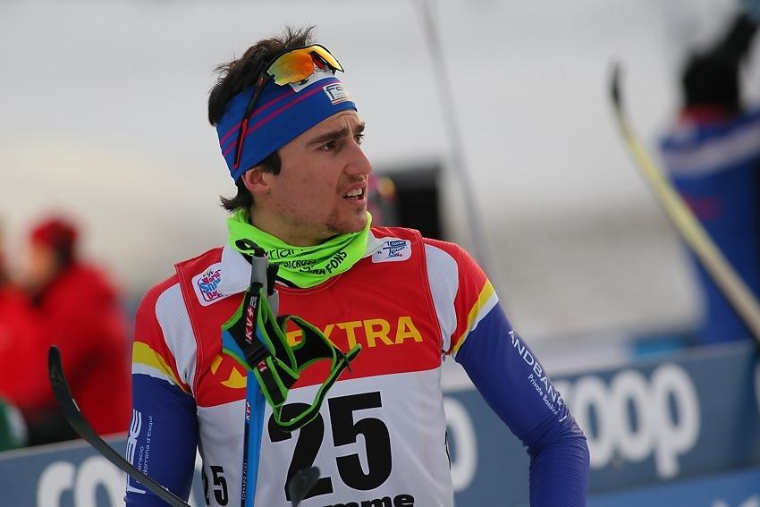 Irineu Esteve, 34è a Davos.