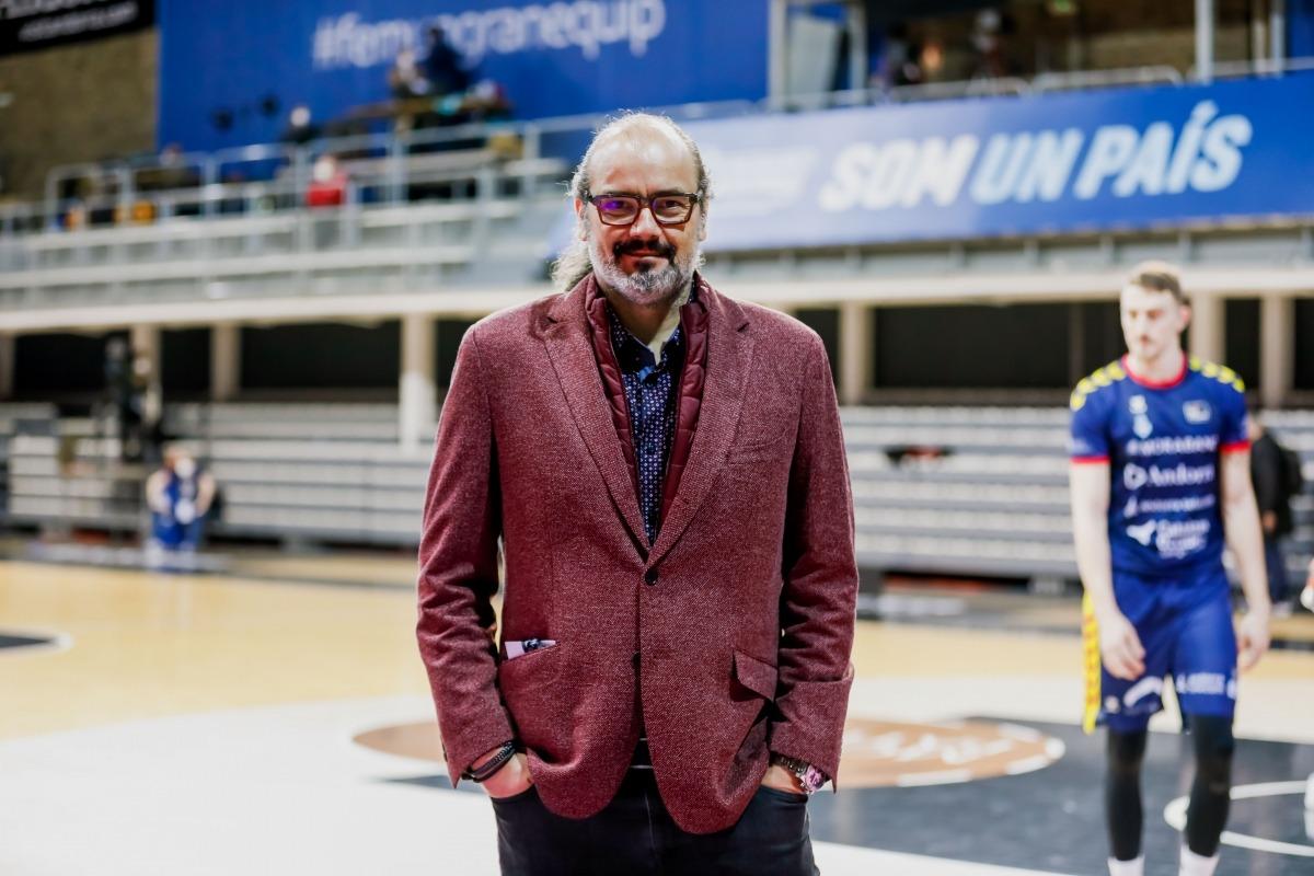 Francesc Solana, director esportiu del BC MoraBanc. Foto: Martín Imatge