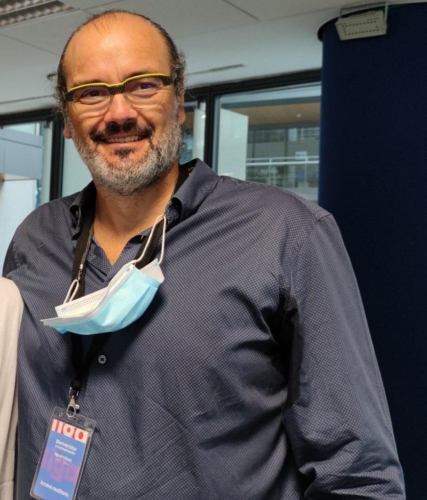 Francesc Solana, director esportiu del BC MoraBanc. Foto: Twitter BC MoraBanc Andorra