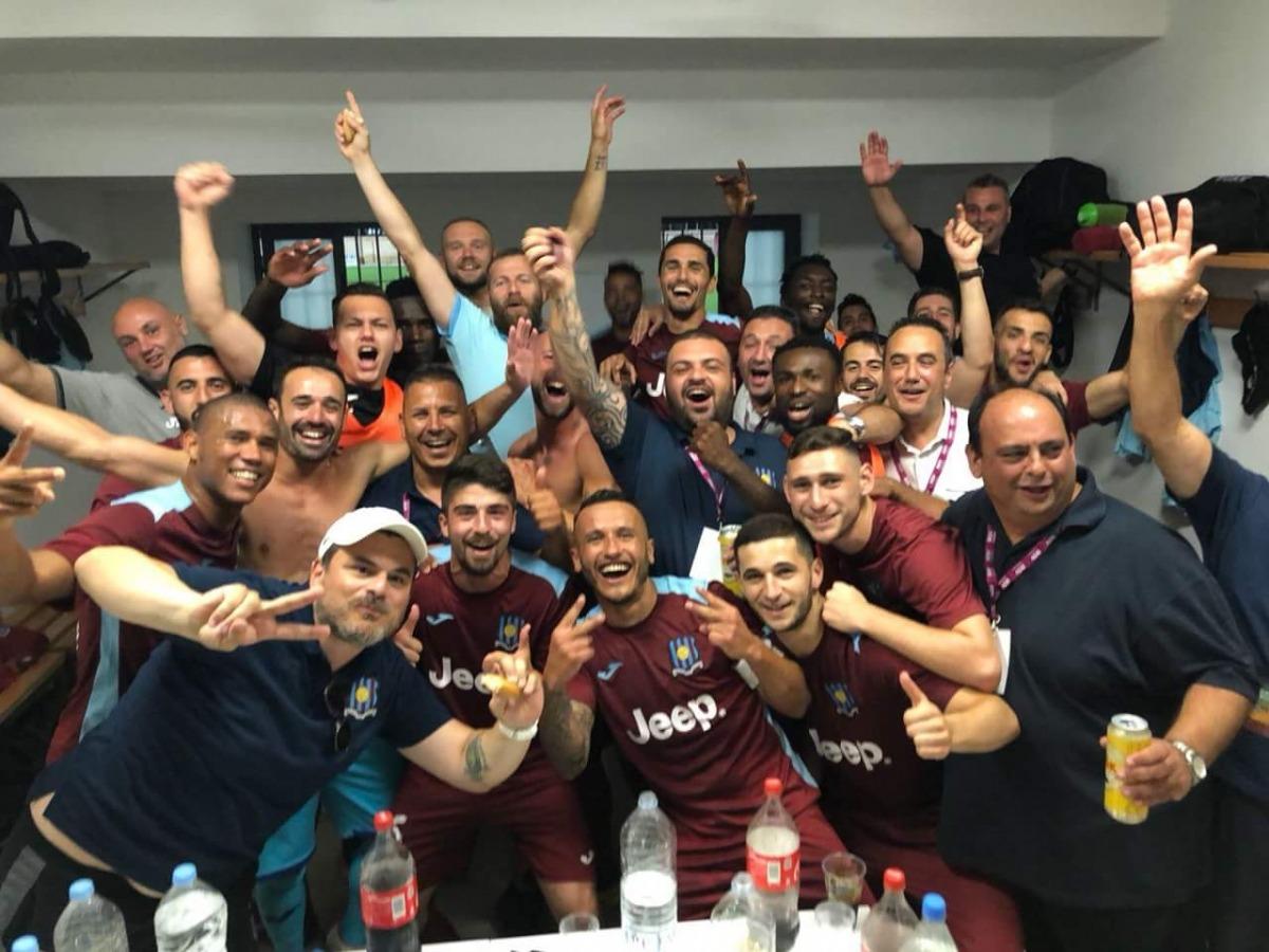 Gzira United, rival de la UE Sant Julià. Foto: Twitter